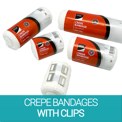 3c0d897f9fbd mx™ Crepe Bandages with clips - MEDINOX